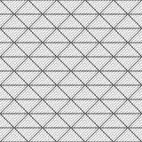 Reticolo senza giunte dei triangoli Priorità bassa a strisce geometrica royalty illustrazione gratis