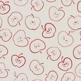 Reticolo senza giunte del Apple royalty illustrazione gratis