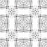 Reticolo senza giunte del Crochet illustrazione di stock