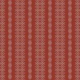 Reticolo senza giunte del damasco di massima rosso e della crema illustrazione vettoriale