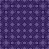 Reticolo senza giunte del damasco viola e blu di Swirly Fotografia Stock Libera da Diritti
