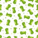 Reticolo senza giunte del dinosauro illustrazione vettoriale