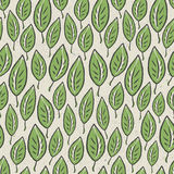 Reticolo senza giunte del foglio astratto verde illustrazione di stock
