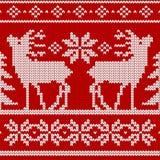 Reticolo senza giunte del knit royalty illustrazione gratis