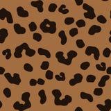 Reticolo senza giunte del leopardo illustrazione di stock