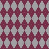 Reticolo senza giunte del plaid Ornamento di vettore formato in un tessuto di saia Immagini Stock