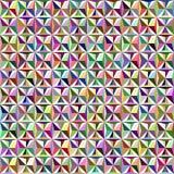 Reticolo senza giunte del triangolo Fotografia Stock