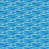 Reticolo senza giunte dell'acqua illustrazione vettoriale