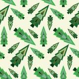Reticolo senza giunte dell'albero di Natale Immagine Stock
