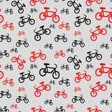Reticolo senza giunte della bicicletta Immagine Stock