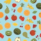 Reticolo senza giunte della frutta Immagini Stock