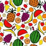 Reticolo senza giunte della frutta Fotografia Stock Libera da Diritti