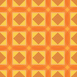 Reticolo senza giunte della geometria Nei colori arancio e gialli Fotografia Stock Libera da Diritti
