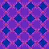 Reticolo senza giunte della geometria Nei colori blu, rosa e viola Fotografia Stock Libera da Diritti