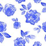 Reticolo senza giunte delle rose Fotografia Stock