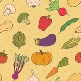 Reticolo senza giunte delle verdure Immagine Stock Libera da Diritti