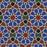 Reticolo senza giunte di Arabesque Fotografia Stock Libera da Diritti