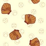Reticolo senza giunte di baseball Fotografie Stock