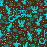 Reticolo senza giunte di Buon Natale Immagini Stock Libere da Diritti