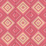 Reticolo senza giunte di figure geometriche astratte Immagine Stock