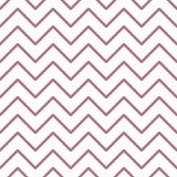 Reticolo senza giunte di zigzag Stampa geometrica astratta di progettazione di modo Carta da parati monocromatica illustrazione vettoriale