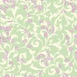 Reticolo senza giunte floreale Priorità bassa del fiore Fiorisca il tex del giardino illustrazione vettoriale
