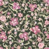Reticolo senza giunte floreale Priorità bassa del fiore Fiorisca la natura GA royalty illustrazione gratis