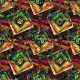 reticolo senza giunte geometrico Fotografie Stock Libere da Diritti