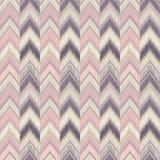 Reticolo senza giunte geometrico astratto ‹E del linÑƒÑ di zigzag del tessuto Fotografie Stock