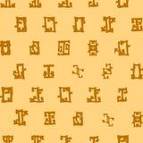 Reticolo senza giunte geometrico astratto royalty illustrazione gratis