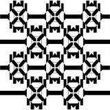 Reticolo senza giunte geometrico astratto Pelliccia Dalmatian Immagine Stock Libera da Diritti