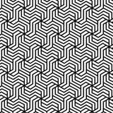 Reticolo senza giunte geometrico astratto illustrazione vettoriale
