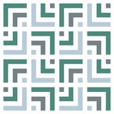 reticolo senza giunte geometrico Fondo regolare semplice Toni calmi Reticolo geometrico Fotografie Stock Libere da Diritti