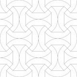 reticolo senza giunte geometrico Illustrazione di vettore Fotografie Stock Libere da Diritti