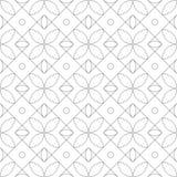 reticolo senza giunte geometrico Illustrazione di vettore Fotografie Stock