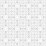 reticolo senza giunte geometrico Illustrazione di vettore Immagine Stock Libera da Diritti