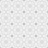 reticolo senza giunte geometrico Illustrazione di vettore Fotografia Stock Libera da Diritti