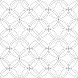 reticolo senza giunte geometrico Illustrazione di vettore Immagini Stock