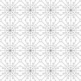 reticolo senza giunte geometrico Illustrazione di vettore Immagine Stock