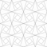 reticolo senza giunte geometrico Illustrazione di vettore Fotografia Stock