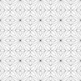 reticolo senza giunte geometrico Illustrazione di vettore Immagini Stock Libere da Diritti