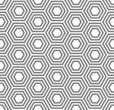 reticolo senza giunte geometrico Modello del guscio di tartaruga Immagini Stock Libere da Diritti