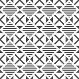 reticolo senza giunte geometrico Priorit? bassa astratta variopinta Illustrazione in bianco e nero Stile minimalista royalty illustrazione gratis