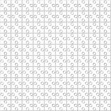 Reticolo senza giunte Il puzzle quadrato sottragga la priorità bassa Fotografia Stock