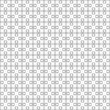 Reticolo senza giunte Il puzzle quadrato sottragga la priorità bassa Immagini Stock