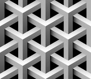 reticolo senza giunte industriale 3d illustrazione vettoriale