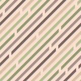 Reticolo senza giunte Linee diagonali con gli spazi Colore pastello calmi illustrazione di stock