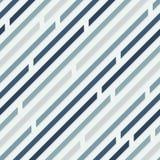 Reticolo senza giunte Linee diagonali con gli spazi Colori freddi illustrazione vettoriale