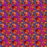 Reticolo senza giunte Maglia che ripete struttura, fondo del mosaico Fotografia Stock