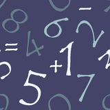 Reticolo senza giunte (numeri con i bordi approssimativi) Immagine Stock
